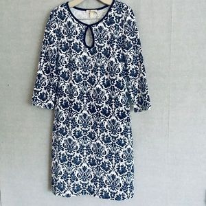 Aryeh blue floral dress